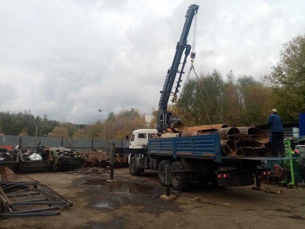 Вывоз металлолома в Москве