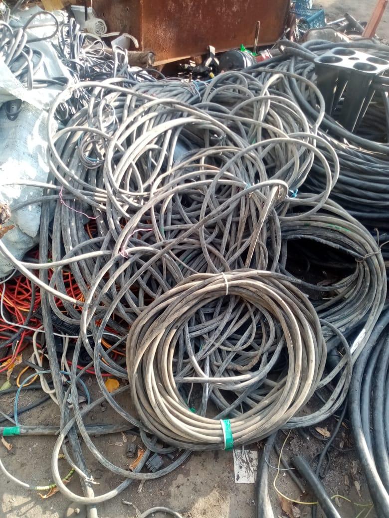 Приём кабеля на металлолом в Москве и области